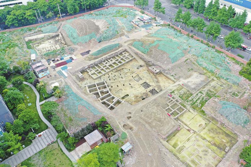 成都考古发现发现了明代郡王——庆符王的王府建筑遗存