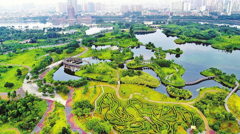 眉山东坡城市湿地公园