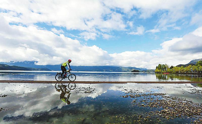 自行车助力全民健身运动