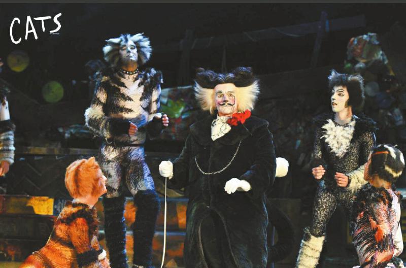 原版音乐剧《猫》来成都巡演