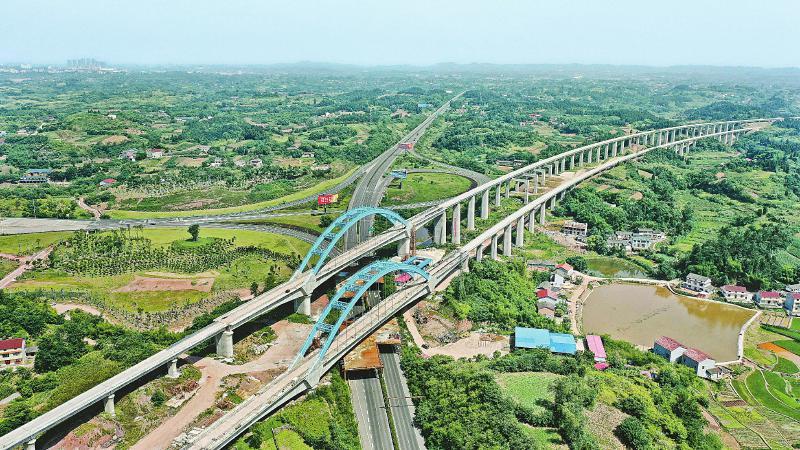 川南城际铁路雷波寺左右线特大桥连续梁基建项目